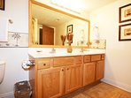 Master Bathroom Sea Dunes Resort Unit 202 Fort Walton Beach Okaloosa Island Vacation Rentals