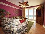 Living Room Sea Dunes Resort Unit 202 Fort Walton Beach Okaloosa Island Vacation Rentals