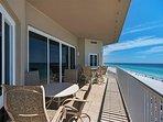 Empress 703 Gulf View Condo - Private Balcony
