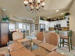 Empress 703 Gulf View Condo - Dining Area