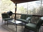 Patio Set on covered deck