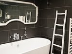 Relax in absolute luxury in our stand alone bath or walk in shower.