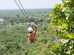 Zip Line excursion in El Choco (25 minute drive into the mountains)!