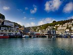 Looe is still an active fishing port.