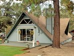 A-Frame Retreat House
