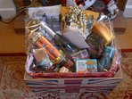 Hamper for weekly stays over Christmas/New Year period