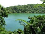Lake Lanoto'o, crater lake, 15min drive away.  Enjoy a bush hike followed by a dip in the lake