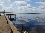 Dock at the lake