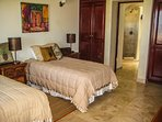 Hybrid  2 twin room or convert into 1 king. Ocean Views, with private Patio!