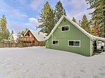 Regardless of the season, this S Lake Tahoe cabin is the perfect retreat!