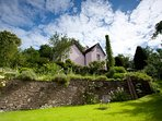 Perfect family garden, two acres of pretty lawns