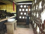 A real hidden gem - this private bathroom