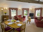 Wychnor Park Country Club Dining With Living