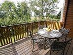 Wychnor Park Country Club Balcony