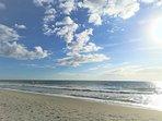 Beach in 3 minutes walking distance