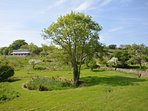 Enjoy the shared gardens and local community woodland