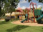 One of the many playgrounds at the complex