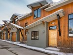 Alpen Glow Row House is the end townhome offering extra privacy
