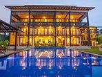 8 bedroom luxury beach villa