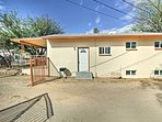 This duplex-style house is ideally located in  Tucson.