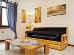 The livingroom for some relaxing