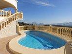 Villa Panorama Le calme de la montagne à 12 km de la mer