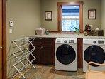 Laundry Room. Heated floor