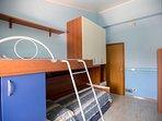 4 camera con letto a castello