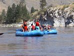 Summer activities include rafting, hiking, auto tours, etc. by local outfitters.