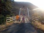Cow Creek bridge.