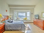 Retreat to your spacious bedroom after a long day.