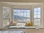 Greet the day with natural light through the large bay window.