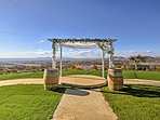 You couldn't ask for a more spectacular backdrop for your wedding ceremony.