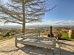 This patio provides an ideal location to watch stunning West Coast sunsets.
