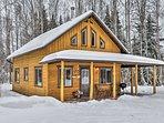 The Kenai Peninsula welcomes you to this 1-bed, 1-bath vacation rental cabin!