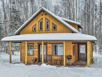 Stop by the Visitor Center in downtown Kenai just 10 minutes from this cabin.