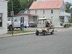 Colonial Beach is a golf cart community!  You can rent a cart in town to go wherever you wish!