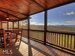 A Change In Altitude - main floor screened porch