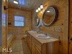 A Change In Altitude - upstairs master bathroom