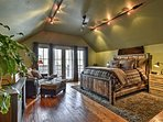 You'll have no trouble settling into this sizable bedroom.