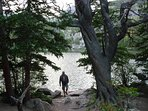 Hike the many lakes in RMNP.