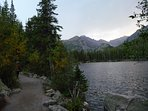 Hike the lakes in RMNP.