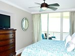 Gorgeous oceanfront master bedroom,