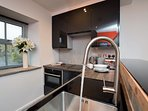 Bright and cleverly designed kitchen