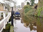Enjoy a trip on the canal which is a short stroll from the property