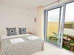 Ground floor Master bedroom with private courtyard garden