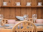 A perfect venue for a relaxed family meal