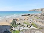 Trebarwith Strand close to the property