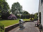 Large gardens perfect for games and  al fresco dining