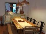 mesa principal salón comedor